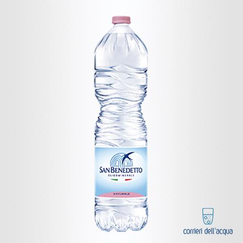 Acqua Naturale San Benedetto Parco del Pollino 1,5 Litri Bottiglia di Plastica