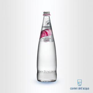 Acqua Naturale San Benedetto Rose Edition 0,75 Litri Bottiglia di Vetro