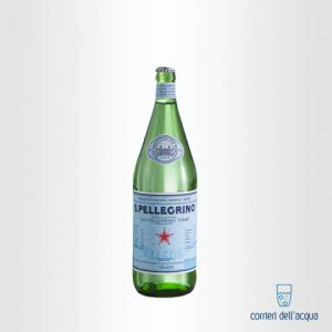 Acqua Naturale San Pellegrino 075 Litri Bottiglia di Vetro