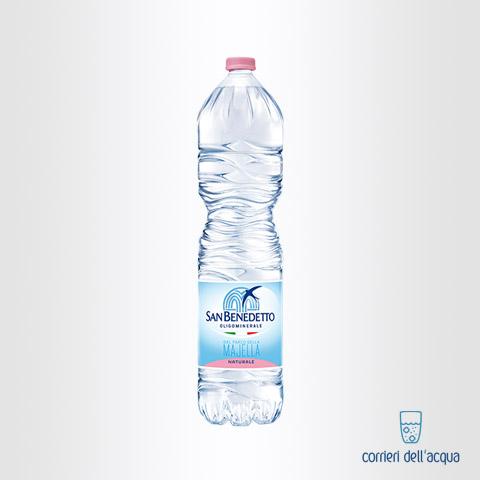 Acqua Naturale San benedetto Parco della Majella 2 Litri Bottiglia di Plastica