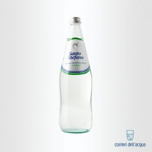 Acqua Naturale Santo Stefano 1 Litro Bottiglia di Vetro