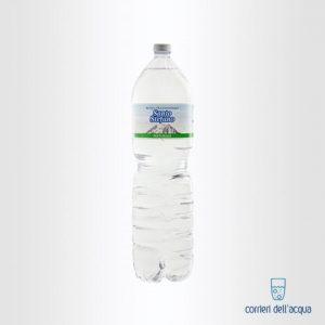 Acqua Naturale Santo Stefano 1,5 Litri Bottiglia di Plastica PET