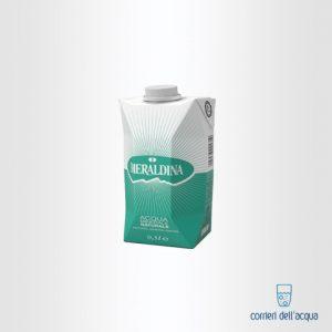 Acqua Naturale Smeraldina 0,5 Litri Bottiglia in Tetrapak