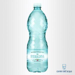 Acqua Naturale Smeraldina 1 Litro Bottiglia di Plastica PET