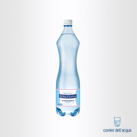 Acqua Naturale Sorgesana 1 Litro Bottiglia di Plastica PET