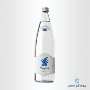 Acqua Naturale Surgiva 1 Litro Bottiglia di Vetro